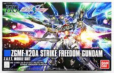 Bandai HGUC 201 GUNDAM ZGMF-X20A STRIKE FREEDOM GUNDAM 1/144 scale kit