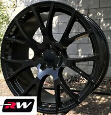 "20"" Dodge Challenger SRT Hellcat OE Factory Replica Wheels Gloss Black 20x9 Rims"