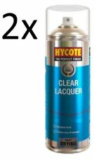 2x Hycote Clear Lacquer 400ml Spray Paint Aerosol - XUK0232 offer