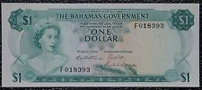 THE BAHAMAS GOVERNMENT - 1965 $1 Note - Uncirculated - Pick #18 - NCC