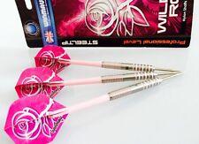 Ladys WINMAU WILD ROSES 90% TUNGSTEN DARTS with Nylon Shafts 26 gram Xmas Gift