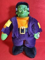 Vintage 90s Halloween Monster Mash Singing Frankenstein Doll Works Great