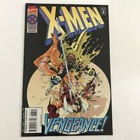 X men 38 Vengeance NM Marvel Comics 1994 Gambit vs Sabretooth Andy Kubert Cover