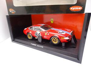 Kyosho 1/18 - Ferrari 365 Gtb / 4 N°64 24H Daytona 1977