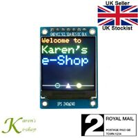 "1.3"" ST7789 240x240 SPI Colour IPS TFT Screen Display Module for Arduino"