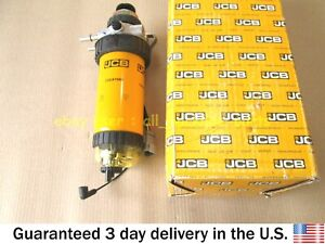 JCB BACKHOE - GENUINE JCB FUEL FILTER ASSEMBLY - 30 (PART# 320/A7088 320/07068)