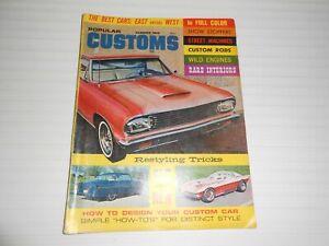 Popular Customs Summer 1965, Roadsters, Hot Rods