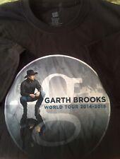 New Garth Brooks 2014-2016 World Tour Concert T Shirt Adult Xlarge