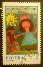 POLAND STAMPS Fi2729 Sc2582b Mi2877- The Chapter of Smile's Order, 1983, used