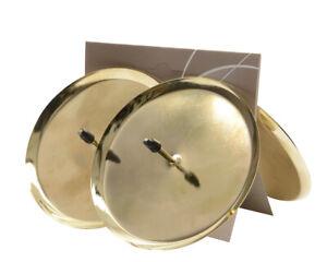 4 Kerzenhalter 8cm Metall zum Stecken mit Dorn Adventskranz Adventskerzenhalter