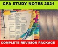 CPA E&G Ethics & Governance  Index, Notes 2021 + Bonus Revision Kit