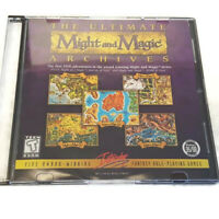 The Ultimate Might And Magic Archives PC CD-ROM 5 Games Bonus Disc & Insert