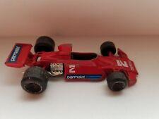 Polistil Racer F1 Brabham BT 44 Alfa Romeo Red Made in Italy Vintage Diecast Car