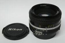 Nikon MF 1,8 / 50 mm  AI  lichstarkes   Objektiv