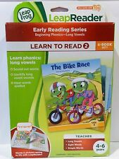 Leapfrog Leapreader LEARN TO READ 2 Early Reading Series 2 NEW works with TAG