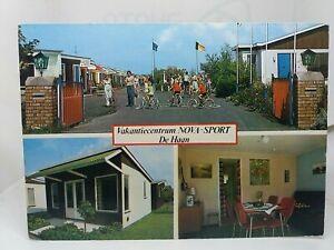 Vintage MV Postcard Nova-Sport Vakantiecentrum De Haan Belgium Holiday Park