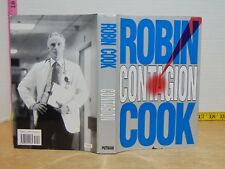 Contagion by Robin Cook (1995, Hardcover) BCE