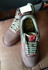 06 Nike Air Force 1 SUPREME 07 CALVIN NATT BROWN ARMY OLIVE GREEN 315339-211