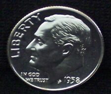 1958-P Silver Proof Roosevelt Dime - Beautiful Coin!