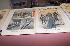 LE PETIT PARISIEN N° 982 1907 CROIX DE LA LEGION D HONNEUR BERRIAU DEMONGEST