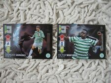 CHAMPIONS LEAGUE 2012/13 PANINI ADRENALYN  LIMITED SET  CELTIC 12/13