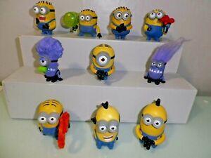 McDonalds toys  2013 'Despicable Me Minions'