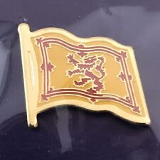 Lapel Pin Royal Scotland Flag - New In Package - Vintage