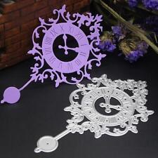 Clock Metal Cutting Dies DIY Stencils Scrapbook Embossing Album Paper Card Craft