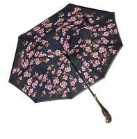 Disney Mary Poppins Returns Cherry Blossom Inverted Umbrella Parrot Handle COA