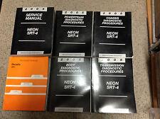 2005 Dodge Neon SRT-4 Shop Service Repair Manual SET W Diagnostics + Recalls