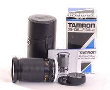 Tamron Film Zoom Manual Focus Camera Lenses