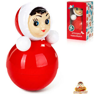 NEVALYASHKA 6С-028 Legendary Soviet Roly Poly, Russian Toy, Doll Baby Musical