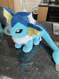 Build A Bear Vaporeon Pokemon Plush Toy Rare BAB