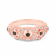 Engagement Round Rose Gold SI1 Fine Diamond Rings