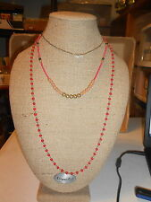 Vivi Jewelry Necklace (new) CARIBBEAN CORAL
