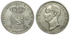 Netherlands - 2½ Gulden 1849 - Willem II - Schaars