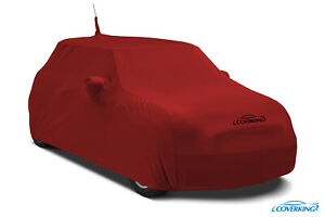 Coverking Satin Stretch Indoor Custom Car Cover for Fiat 500 - Made to Order