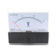Analog Panel Voltmeter Volt Meter DC 0 - 15V Measuring Range 44C2