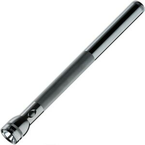 Maglite torch 6D cell BLACK - incandescent D cell flashlight - Genuine Mag Lite