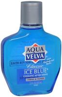 Aqua Velva Classic Ice Blue Cooling After Shave 3.50 oz (Pack of 6)