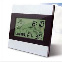 Neue Digital LCD Wecker Home Wetterstation Thermometer Kalender