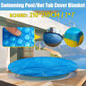 7'  Round Spa Hot Tub Swimming Pool Cover 400μm Solar Bubble Thermal  i