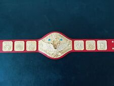 Fandu WWWF Backlund era World Heavyweight Wrestling Championship Replica Belt