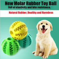Pet toy Leaking food ball Decompression Elastic Rubber ball dog toy Pet toy
