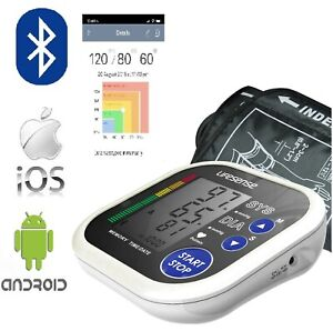 New Bluetooth Digital Electronic Upper Arm Blood Pressure Monitor Automatic