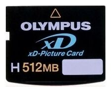 """xD Picture Card * 512 MB * Typ """"H"""" * Olympus"""