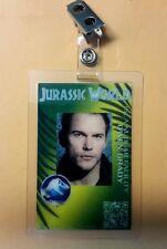 Jurassic World ID Badge - Owen Grady costume prop cosplay green Jurassic park