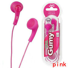 JVC Gumy Gummy  In-Ear Canal Earbuds Headphones Earphones Genuine