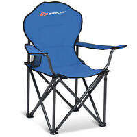 Folding Beach Chair High Weight Capacity Durable Camping Fishing Picnic Chair
