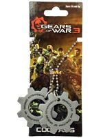 "Neca Pendants ""Gears of War"" Metal COG Tags"